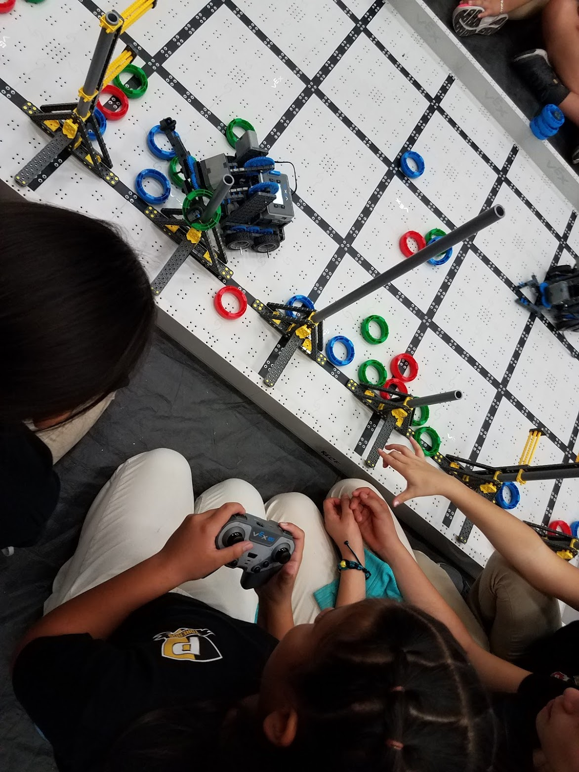 vex iq playing